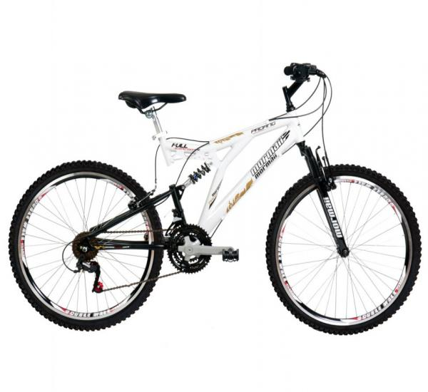 Bicicleta Mormaii Padang Full Suspension 26